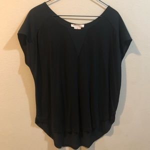Philosophy high low dolman tee